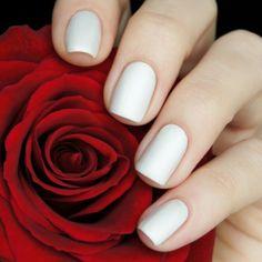 Pseudo Silk Kimono Nail Polish Fabulous Nails, Perfect Nails, Perfect 10, White Polish, White Nails, Mani Pedi, Pedicure, Deborah Lippmann Nail Polish, Zoya Nail Polish