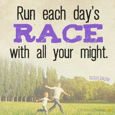 Daily Devotional - 3 Methods Of Running Life's Race: Basilea Schlink #Christianquote
