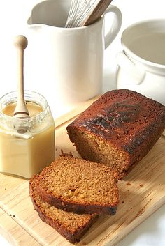 Lekach: honey cake for Rosh Hashana