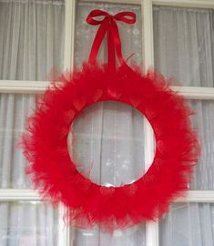 Decorating for Valentine's Day is easy, thanks to this Dollar Store Valentine's Day Wreath!
