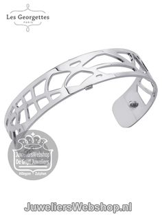Les Georgettes Armband Fougeres Zilver 14mm