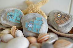 Heart Mosaic  Decorative Beach Pebbles by ButterflyMosaicsUK