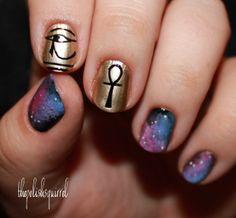 ancient aliens nail art #prom