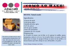receta tamal asado