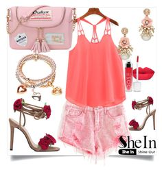 """""""6/4#SheIn"""" by fatimka-becirovic ❤ liked on Polyvore"""