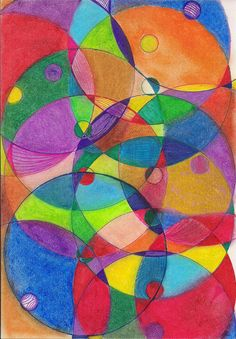 oil pastel artworks | Abstract Original Art, Art drawing, Oil Pastel and Ink on Multipurpose ...