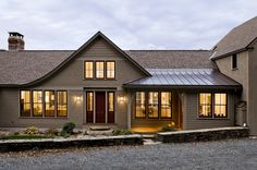Hillside Residence Hanover NH - traditional - Exterior - Burlington - Smith & Vansant Architects PC Separate but open Cape Style Homes, Shingle Style Homes, Pergola Plans, Diy Pergola, Pergola Ideas, Roof Ideas, Modern Pergola, Cheap Pergola, Pergola Kits
