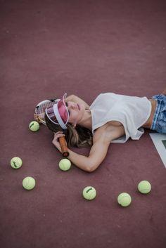 Tennis Court Editorial Photoshoot | Carmélisse Photography | Editorial & Lifestyle Photographer | Wedding and Elopement Photographer | Travel Photographer | Long Beach Photographer