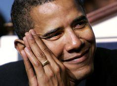 Barack Obama - very handsome