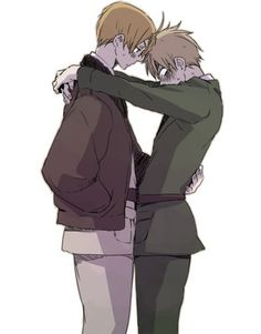 usuk (I love how Arthur is freaking out, its so adorable!) σ(≧ε≦o)