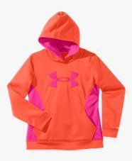 Under Armour Girls' Armour Fleece Storm Big Logo Hoodie Nike Under Armour, Under Armour Girls, Under Armour Sweatshirts, Kids Outfits, Cute Outfits, Graphic Sweatshirt, Hoodies, My Style, Sweaters