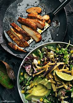 chicken and avocados #food #yummy For guide + advice on healthy lifestyle, visit http://www.thatdiary.com/