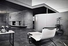 The Emerson Hall Studio Residence - 1954. Photo: Julius Shulman.