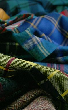That's the Henderson tartan, right in front, with the green, yellow and red