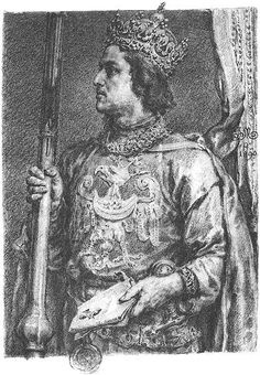 Przemysl II, King of Poland (reign: European History, World History, Monuments, Poland History, Old Portraits, S Pic, Great Artists, Folk Art, Medieval