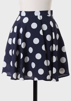 Janette Polka Dot Skirt at #Ruche @Mimi B. B. B. B. ヾ(^∇^)