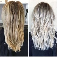 Brassy Blonde to Icy Blonde