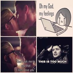 My feelings towards #Olicity