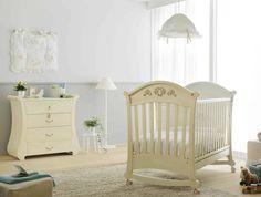 Lovely  Babym bel Design aus Buchenholz in der Farbe Antik Elfenbein Hier erhalten Sie