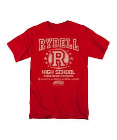 Another great find on #zulily! Red Grease 'Rydell High School' Tee - Men's Regular #zulilyfinds