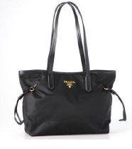 Prada Tessuto Tote Bag Purse Br4001 Black From Prada - Bags or Shoes Shop