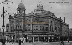 The Ardwick Empire Theatre, Manchester - From a Postcard   ~ built in 1904, refurbished in 1935 and renamed the New Manchester Hippodrome, demolished in 1964