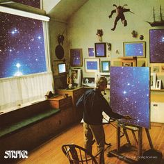 197. STRFKR - Being No One, Going Nowhere ▪️ Rating: ⭐️1/2 ▪️ I hadn't had one of those this-cover-looks-cool-let's-listen entries in a bit and this was one of those. Some nice grooves, but almost difficult to finish with the similar sound on all the tunes.