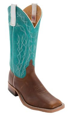 Teal Cowboy Boots For Girls