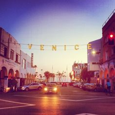 Venice Beach in Venice, CA. Super hippy vibe