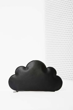 Cloud Leather Clutch