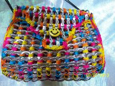 Small Colorful Poptab Purse by PoptabsPurses on Etsy, $30.00