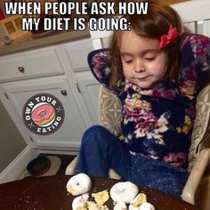 """We've all been there. We got you. We will be live on Facebook in 15 minutes! Let us teach you how to eat donuts and still have abs! Search for """"Own Your Eating Tribe"""""""