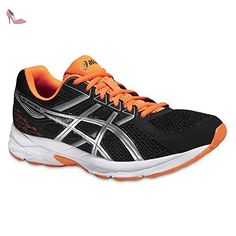 Gel-Contend 4, Chaussures de Running Homme Blanc (Blanc/Noir/Insignia Bleu) 40.5 EUAsics