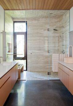Une salle de bain raffinée