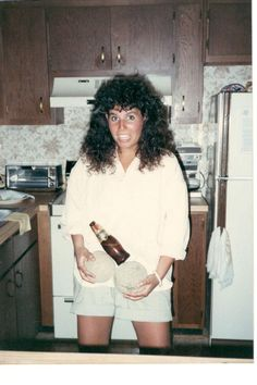 17, '87 using 2 melons and a beer bottle to make a penis-bonus mullet : blunderyears