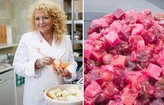 """Sałatka lwowska wg Magdy Gessler """"Kuchenne rewolucje"""" - Kuchnia ukraińska to w naszym kraju wciąż kuchnia nieznana i niedoceniona. Dlatego to dobrze, że dawną staropolską kuchnię lwowską z regionu dawnej Galicji przypomniała w ostatnim programie """"Kuchenne rewolucje"""" Magda Gessler..."""