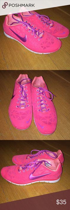 Nike free tr. size 9.5. Coral/pink/purple. Nike free tr. size 9.5. Coral/pink/purple. Nike Shoes Sneakers