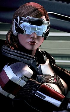 Dustrial, Cyberpunk Clothing & Apparel — asgardianwarriorr: Commander Shepard