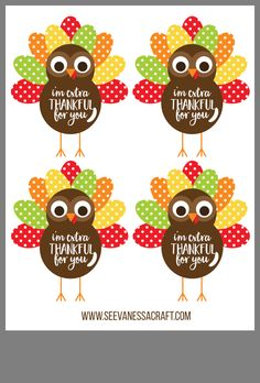 Fashion and Lifestyle Thanksgiving Teacher Gifts, Thanksgiving Favors, Free Thanksgiving Printables, Thanksgiving Parties, Christmas Neighbor, Christmas Crafts, Candy Grams, Happy Turkey Day, Volunteer Gifts