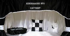 A range od Cat Show Drapes and Cat Show Curtains made in the UK. Cattery, Pet Life, Cat Design, Drapes Curtains, Bengal, Cage, Bed Pillows, Classy, Blinds