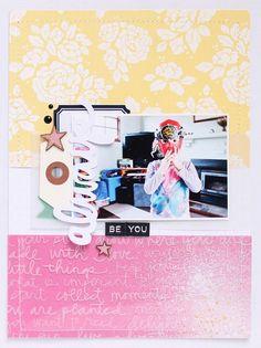 shanna noel: Layout Love | Merlin Edition