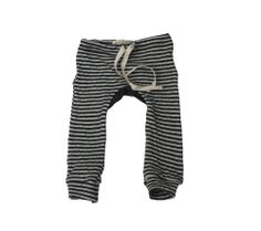 Striped Double-Sided Drawstring Leggings Check :)