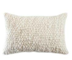 Alma Cable Knit Throw Pillow