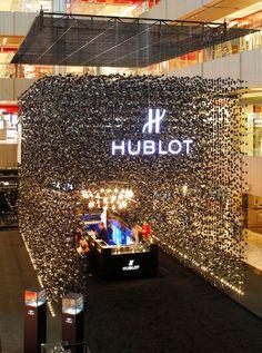 Временный бутик Hublot, Сингапур - Интерьеры объекты - Дизайн и архитектура растут здесь - Артишок