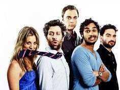 big-bang-theory-0   Penny has Howard's necktie in her mouth, Raj has beard mustache,   leonard beard   February 2015