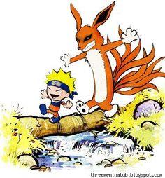 Calvin & Hobbes vs. Naruto!