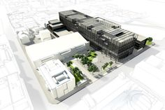 Gallery - Mecanoo Designs New Engineering Campus for University of Manchester  - 1