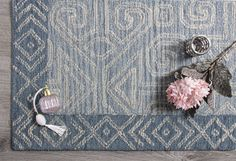 A unique and intricate style, the tradition of Company C's Mayan architecture is both dramatic and recognizable. Our Mayan rug with its stylistic angles and crisp geometrics is impressive in denim blue and natural undyed yarns. Rug Company, 12 Days, Yarns, Angles, Blue Denim, Belly Button Rings, Crisp, Indigo, Colorful
