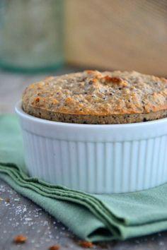 Mini Blueberry Oatmeal Cake | BakeryonMain | #glutenfree #cake #oatmeal #healthy #recipe