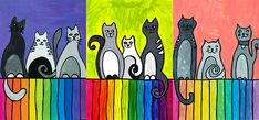 Cats on the fence